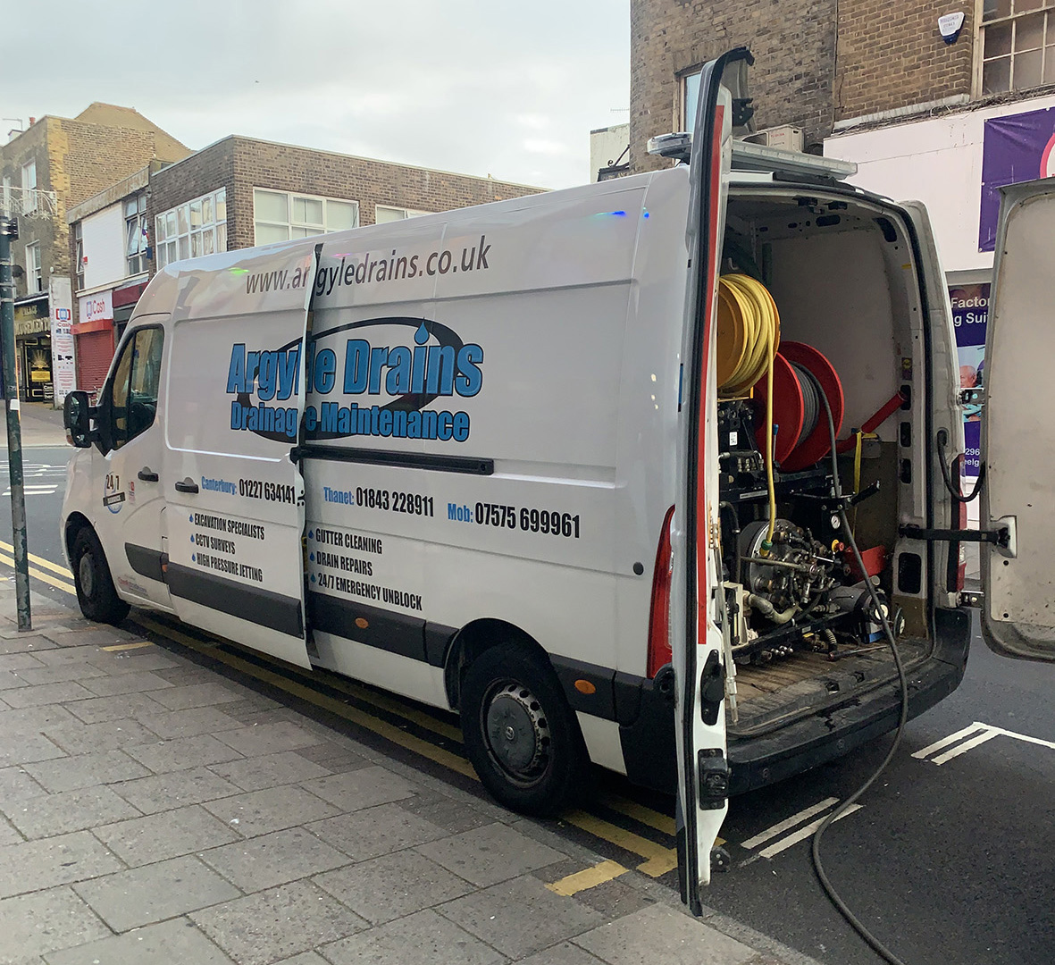 Unblocking Blocked Drains in Margate